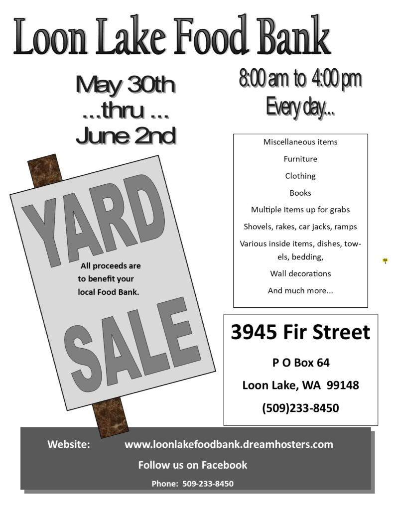 Yard Sale May_June 2019